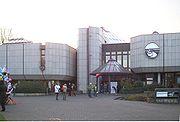 Gebäude des Aquazoo-Löbbecke-Museums.