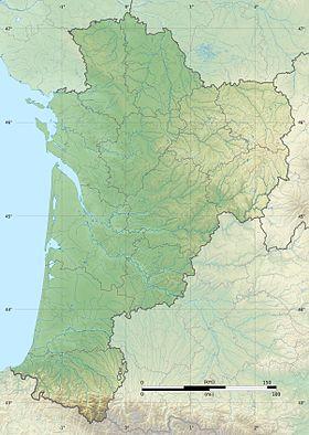 voir sur la carte de Nouvelle-Aquitaine