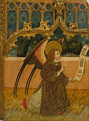 Archangel Gabriel from an Annunciation