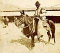 Archivo General de la Nación Argentina 1890 aprox Salta, Trabajador rural, apero con guardamontes.jpg