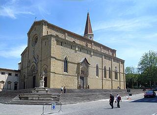 church building in Arezzo, Italy