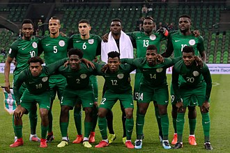 Nigeria national football team - Argentina versus Nigeria in a friendly match on 14 November 2017