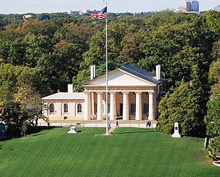 Arlington House, The Robert E. Lee Memorial Estate in Virginia