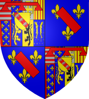 Counts and dukes of Aumale - Coat of Arms of the Dukes of Aumale of the Lorraine family
