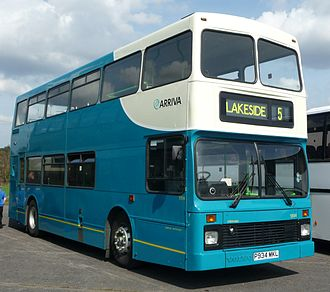 Arriva Southend - Arriva Southend Northern Counties Palatine bodied Volvo Olympian at the Cobham bus rally in 2009