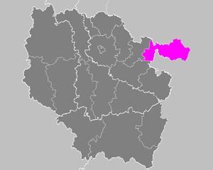 Arrondissement of Sarreguemines - Image: Arrondissement de Sarreguemines
