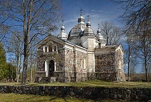 Viljandi County - Image: Arussaare õigeusu kirik