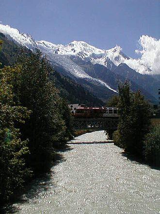 Arve - Image: Arve à Chamonix