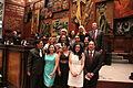 Asambleístas al termino de la sesión solemne, en la que el presidente de la República, Rafael Correa Delgado, presentó su informe a la nación (6030498955).jpg