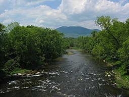 Sugar River och Mount Ascutney.