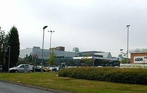 Telford Shopping Centre - The branches of Debenhams and Asda.