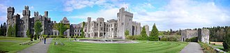 Ashford Castle - Image: Ashford Castle panoramic