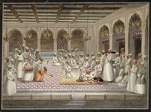 Vizier - The winter Diwan of a Mughal Vizier.
