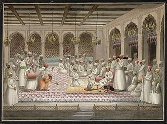 Divan - The winter Diwan of a Mughal Nawab.