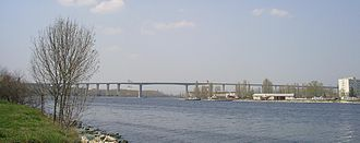 Asparuhov most - Image: Asparuhov Bridge Varna