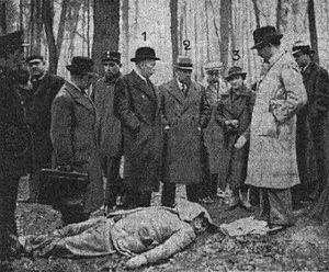 Dimitri Navachine - Navachine assassinated on 25 January 1937