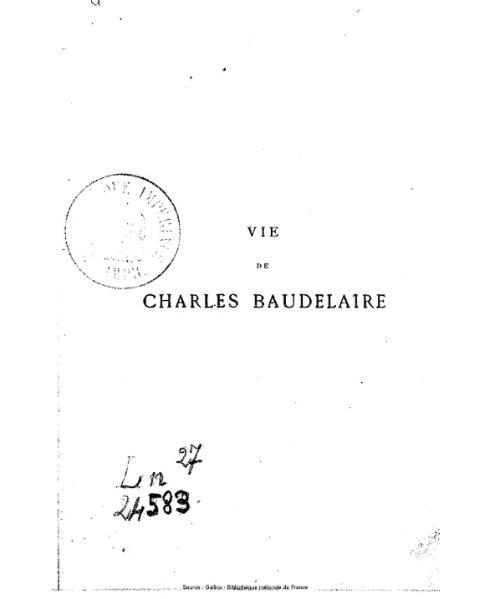 File:Asselineau - Charles Baudelaire - sa vie et son œuvre.djvu