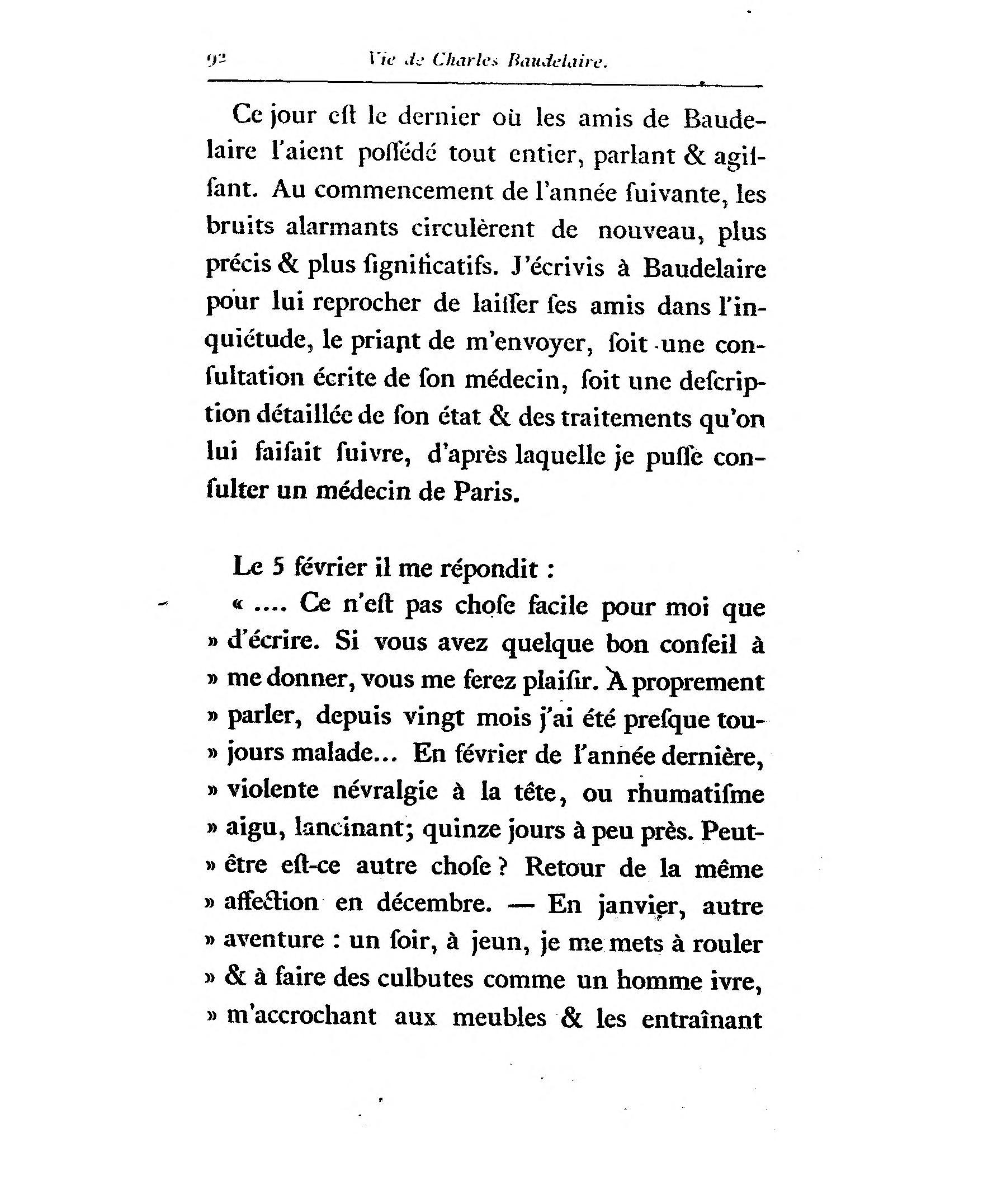 Page Asselineau Charles Baudelaire Sa Vie Et Son Uvre Djvu  # Faire Rouler Son Meuble