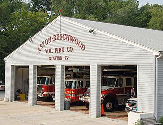 Aston Township, Delaware County, Pennsylvania - Aston Township Fire Dept Station 17 West