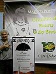 Astronauta Marcos Pontes com o banner do Projeto Astronomia Para Todos - Batatais na véspera do evento Domingo Com o Astronauta, realizado em Bauru no dia 3 de abril de 2016, em comemoração dos 10 - panoramio (1).jpg
