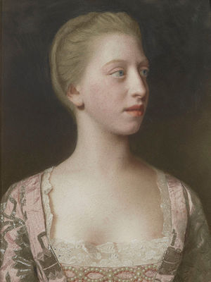 Princess Augusta of Great Britain - Princess Augusta, aged 17, by Liotard