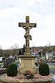 Aura an der Saale, Friedhofskreuz, 001.jpg