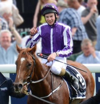 Joseph O'Brien (jockey) - Joseph O'Brien after winning the Epsom Derby on Australia