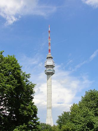 Avala - Avala TV Tower