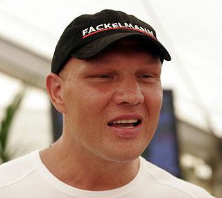 Axel Schulz German boxer