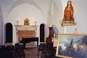 Villa San Michele - Image: Axel munthe's chapel villa san michele