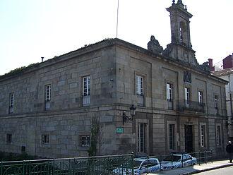 Caldas de Reis - Image: Ayuntamiento 001. Caldas de Reyes