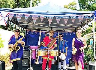 Assyrian Australian worldbeat band