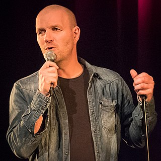 Bård Tufte Johansen Norwegian comedian