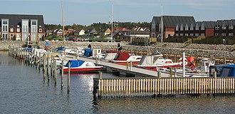 Bønnerup Strand - Image: Bønnerup Strand indre havn