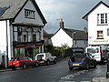 B3206 on the west side of The Square, Chagford - geograph.org.uk - 1473555.jpg