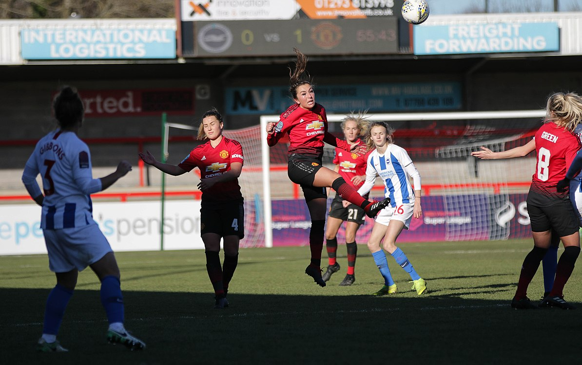 BHA Women 0 Man Utd Women 2 WFAC 4th rd 03 02 2019-1224 (46934296222).jpg