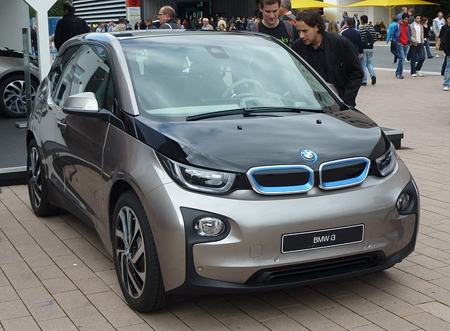 BMW i3 viewing