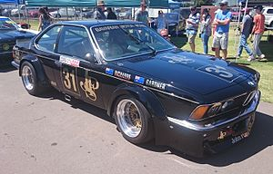 Jim Richards (racing driver) - Richards drove a BMW 635 CSi in the Group C Touring Car category from 1982 to 1984