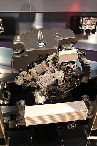 BMW N20 - Image: BMW N20 Engine