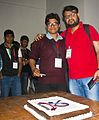 BNWIKI10-Probuddho and Sumit-Wikipedia 10th Anniversary Celebration.jpg