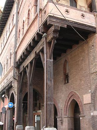 Portico - Portico close to piazza Santo Stefano, Bologna