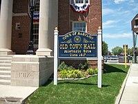 Babylon Town Hall; Front Sign.JPG