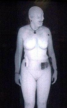 人体扫描安检仪