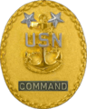 Badge of a United States Navy command master chief petty officer.png