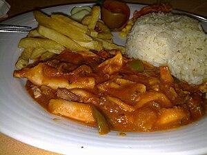 Bafa (cuisine) - Octopus bafa (Bafa de polvo)