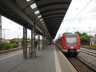 Munich Trudering station metro station in Munich, Germany