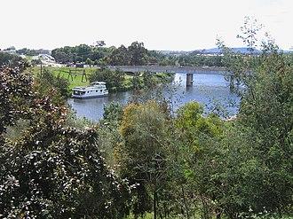 Mitchell River (Victoria) - Image: Bairnsdale Victoria Aust Mit 1