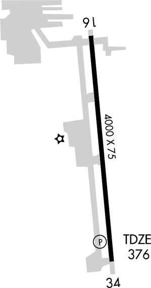 Bakersfield Municipal Airport diagram.png