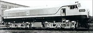 General Roca Railway - A Baldwin locomotive acquired for the line in 1953.