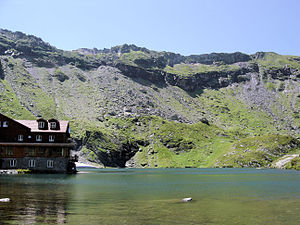 Bâlea Lake - Image: Baleasee